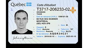 victorian fake id card